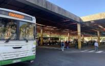 FILE: The Golden Arrow bus terminus in the Cape Town CBD on 1 June 2020. Picture: Kaylynn Palm/EWN