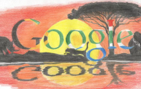 Katya Ludick won the Doodle 4 Google competition with over 6,000 votes. Picture: Google.