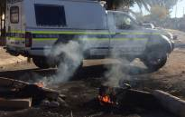 More Public Order Police have been deployed to defuse protests in Phalaborwa. Picture: @nkosi_milton.