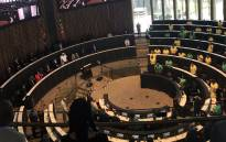 The Johannesburg council chambers ahead of Mayor Herman Mashaba's State of the City Address on 30 April 2019. Picture: @CityofJoburgZA/Twitter