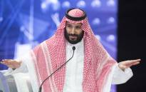 File: A handout picture provided by the Saudi Royal Palace on 24 October 2018, shows Saudi Crown Prince Mohammed bin Salman speaking during a joint session of the Future Investment Initiative (FII) conference in the capital Riyadh. Picture: AFP