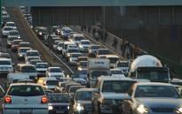 Traffic on Johannesburg roads. Picture: EWN.