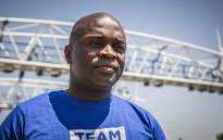 FILE: DA's Gauteng premier candidate Solly Msimanga at a toll gantry on the N12. Picture: Abigail Javier/EWN