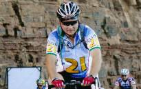 Veteran Cape Town Cycle Tour rider Stephen Stefano riding through Chapman's Peak during the 2013 edition of the ride. Picture: Supplied
