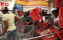 Shoppers on Black Friday, 29 November 2019. Picture: Abigail Javier