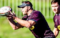 Duane Vermeulen during a Springbok training session. Picture: @Springboks/Twitter