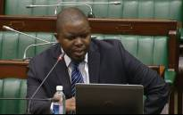 FILE: A screengrab of Deputy Public Protector Kevin Malunga answering questions during his interview.