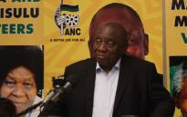 ANC president Cyril Ramaphosa on the campaign trail in Sandton on 4 April 2019. Picture: Xanderleigh Dookey/EWN