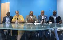 The five DA members who resigned in October: (From L-R) Thulani Stemele, Suzette Little, Shaun August, Greg Bernado and Siyabulela Mamkeli. Picture: Cindy Archillies/EWN