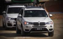 BMW X3 at new site where a state of the art plant will be built. Picture : Kgothatso Mogale/EWN.