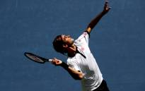 Roger Federer of Switzerland serves during his Men's Singles fourth round match against David Goffin of Belgium on day seven of the 2019 US Open at the USTA Billie Jean King National Tennis Center on 01 September 2019 in Queens borough of New York City. Picture: AFP.