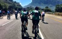 Cape Town Cycle Tour's participants on 11 March 2018. Picture: @CTCycleTour/Twitter.