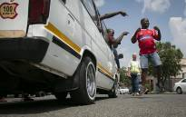 FILE: Vereeniging taxi drivers celebrating the outcome of the case against 36 taxi drivers arrested for public violence which was provisionally withdrawn, pending an investigation on 22 March 2019. Pictures: Sethembiso Zulu/EWN