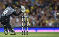New Zealand's Tom Blundell plays a shot during their Twenty20 cricket match against Australia at the Sydney Cricket Ground in Sydney on 3 February 2018. Picture: AFP