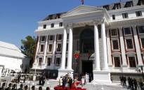 Parliament says spending for the State of Nation Address is R2 million less than last year. Picture: AFP.