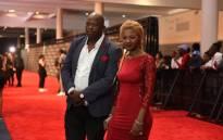 Former couple Mandla 'Mampintsha' Maphumulo and Bongekile 'Babes Wodumo' Simelane. Picture: @MampintshaNUZ/Twitter.