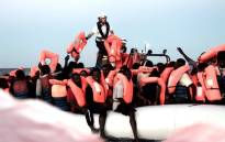 FILE: Survivors rescued from the Mediterranean by the 'Aquarius', which is operated by the Medecins Sans Frontieres and SOS Mediterranee charities. Picture: unhcr.org