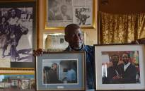 Former photojournalist Sam Nzima sharing some of his memorable moments in his home studio in Bushbuckridge, Mpumalanga. Picture: EWN.