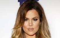 Khloe Kardashian. Picture: AFP.