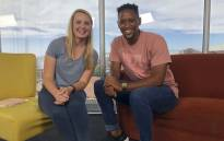 Stormers fullback Craig Barry chats to EWN Sport's Cato Louw about giving back to the community. Picture: Bertram Malgas/EWN