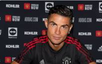 Cristiano Ronaldo has signed with Manchester United. Picture: @ManUtd/Twitter.