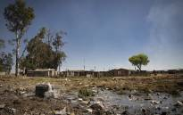FILE: Raw sewage at a settlement in Boipatong in the Vaal area. Picture; Sethembiso Zulu/EWN.