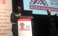 Health minister Aaron Motsoaledi has thanked world leaders and organisations for attending the International Aids Conference. Picture: Masego Rahlaga/EWN.