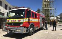 A fire engine at the Roeland Street fire station in Cape Town. Picture: Kaylynn Palm/EWN