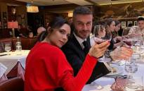 Victoria and David Beckham. Picture: @victoriabeckham/Twitter