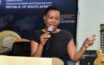 Communications Minister Stella Ndabeni-Abrahams. Picture: GCIS