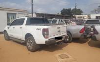 Stolen vehicles seized at the SA-Mozambique border. Picture: SAPS.