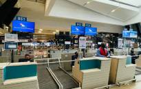 SAA check-in counters. Picture: @flysaa_care/Twitter