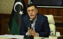 Libya's unity government Prime Minister Fayez al-Sarraj speaks about the latest situations in the capital Tripoli on 30 August 2018. Picture: AFP.