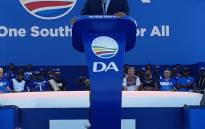 DA leader Mmusi Maimane at the Dobsonville Stadium on 4 May 2019. Picture: Our_DA/Twitter