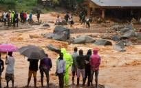 At least 179 bodies have been brought to the central morgue in Sierra Leone's capital, Freetown, after a mudslide in the outskirts of the city on Monday morning, the Red Cross said. Picture: Screengrab