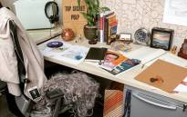 A picture of a desk was the agency's first post on Instagram.