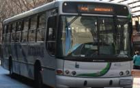 A metro bus in the Johannesburg CBD. Picture: EWN.