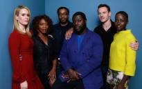 (L-R) Actress Sarah Paulson, actress Alfre Woodard, actor Chiwetel Ejiofor, director Steve McQueen, actor Michael Fassbender and actress Lupita Nyong'o of '12 Years A Slave' pose at the Guess Portrait Studio during 2013 Toronto International Film Festival on September 7, 2013 in Toronto, Canada. Picture: AFP