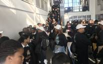 Learners from schools in Cross Roads, Nyanga, Bishop Lavis and Belhar visit Robben Island as part of the Nelson Mandela Day celebrations on 18 July 2018. Picture: Cindy Archillies/EWN