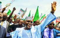 FILE: Peoples Democratic Party (PDP)'s Atiku Abubakar. Picture: Twitter/@atiku.