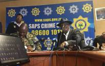 Police Minister Bheki Cele giving an update on the progress made by the inter-ministerial committee set up by President Cyril Ramaphosa to investigate political killings in KZN. Picture: Ziyanda Ngcobo/EWN.