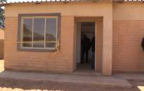 FILE: Three pensioners from Kliptown Soweto were recipients of new RDP houses as part of the City of Johannesburg plans to improve the lives of people in Townships. Picture: Kgothatso Mogale/EWN