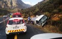 Three farmworkers were killed when the driver of a truck transporting them lost control of the vehicle near Worcester in the Western Cape on 4 January 2021. Picture: Supplied.
