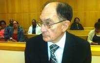Alleged paedophile Johannes Kleinhans appears in the Parow Regional Court on 2 October 2012. Picture: Catherine Rice/EWN