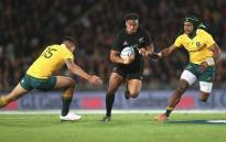 FILE: Former winger Julian Savea takes his Test tally to 44 fourth on the all-time list for the All Blacks. Picture: Twitter @AllBlacks.