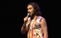 FILE: Russell Brand performing at the Teatro, Montecasino on 29 September 2015. Picture: Louise McAuliffe/EWN.