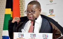 The Minister of Higher Education, Science and Innovation, Dr Blade Nzimande addressing a media briefing on further measures implemented on COVID-19 within the Higher Education, Science and Innovation sectors, on 7 July 2020. Picture: GCIS.
