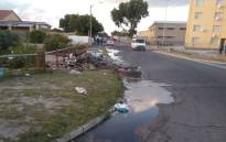 Sewage over flows in Lotus River.Picture: Supplied