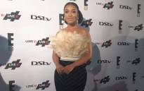 Actress Nomzamo Mbatha at the 15th birthday of entertainment channel E! on 12 April in Sandton. Picture: Winnie Theletsane