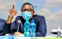 Transport Minister Fikile Mbalula released the 2021 Easter road safety statistics on 8 April. Picture: @MbalulaFikile/Twitter.